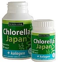 Chlorella Japan s kolagénom 750tbl 200mg