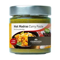 Hot Madras Curry Paste 160g BIO COS